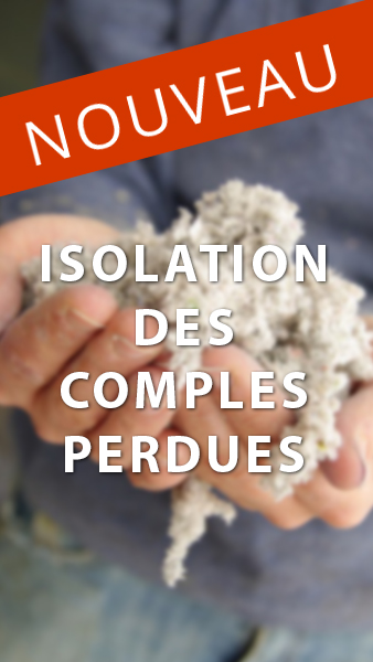 Isolation des combles perdues